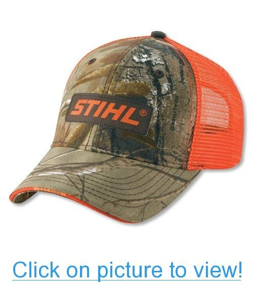 STIHL Hat - Realtree Camo Orange  STIHL  Hat  Realtree  Camo Orange ... 0b6278580b8a