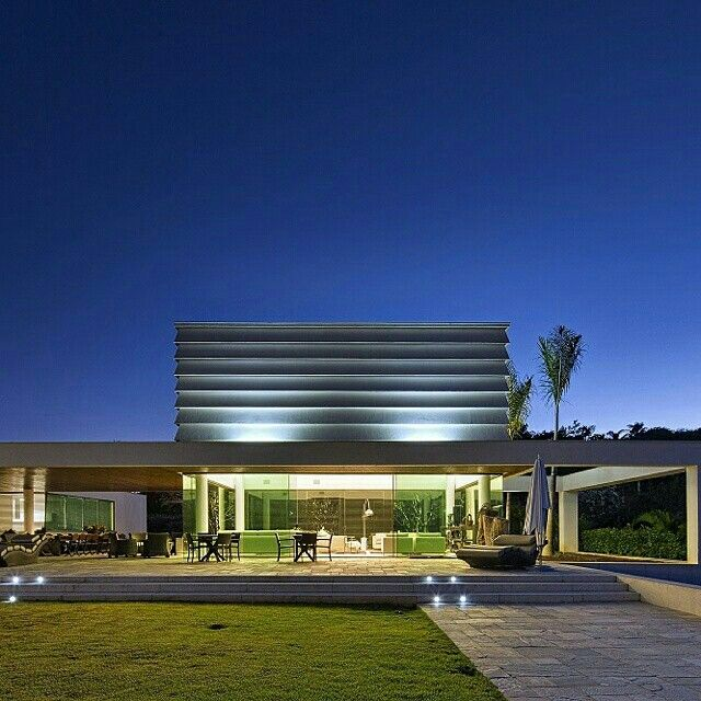 Pin By Mohamed O On Modern Villas: Projeto Gustavo Penna