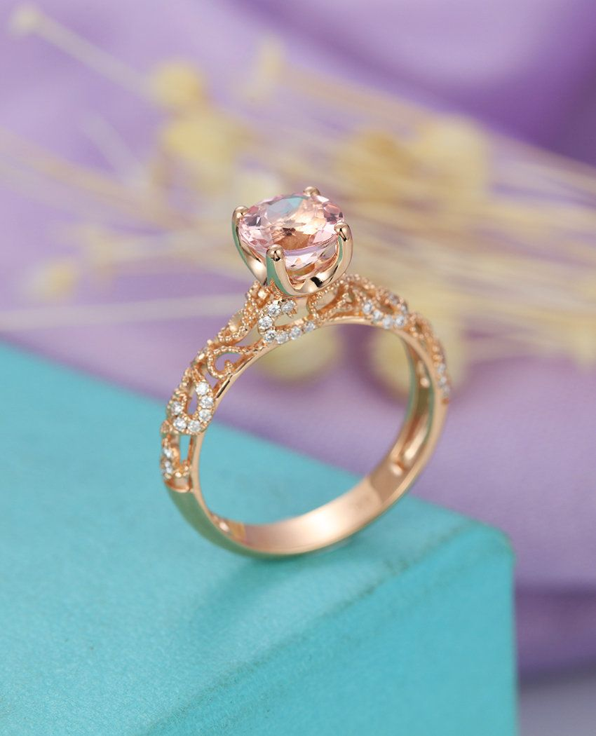 1be9f88530fc6 Details about 3 18ct pink heart cut diamond solitaire engagement ...