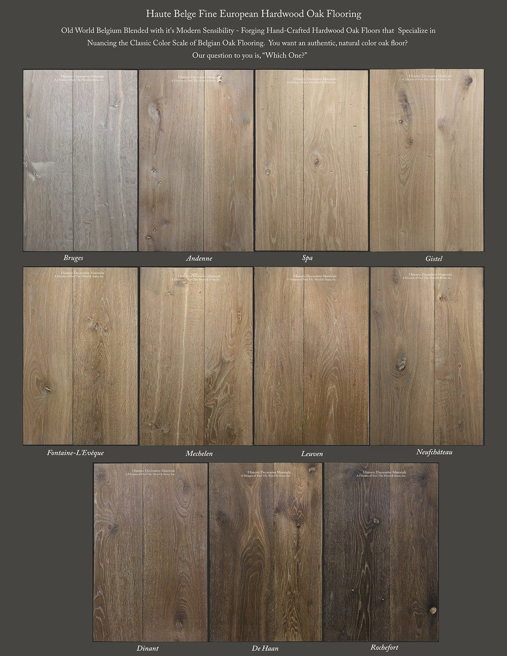 Haute Belge Specializes In Classic Belgian Oak Colors You Are Looking For An Authentic Oak Floor Our Question T French Oak Flooring Oak Floors Oak Hardwood