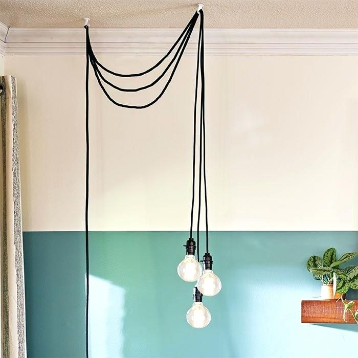 New Diy Pendant Light Cord Best Plug In Ideas On Hanging Bedside Lighting And Night Lights