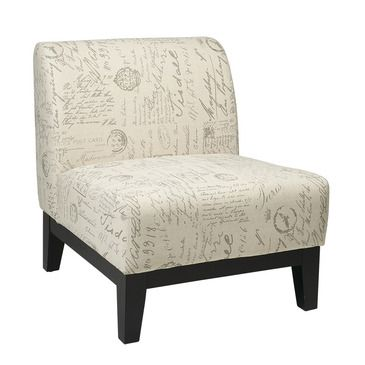 Office Star Avenue Six Glen Chair in Script - BEYOND Stores