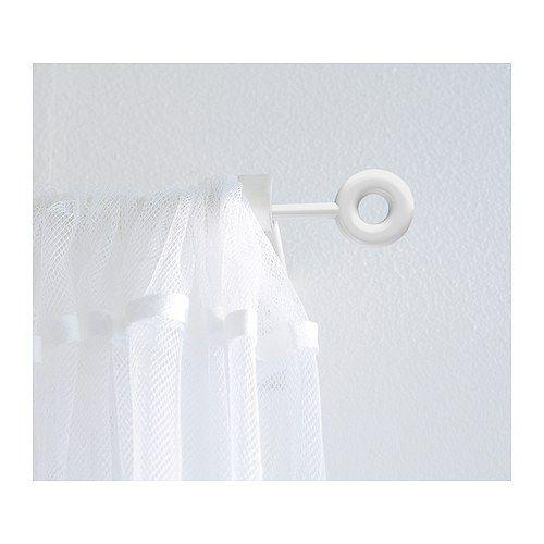 Irja Curtain Rod Set White 140 Cm Drop Cloth Curtains Colorful Curtains Elegant Curtains