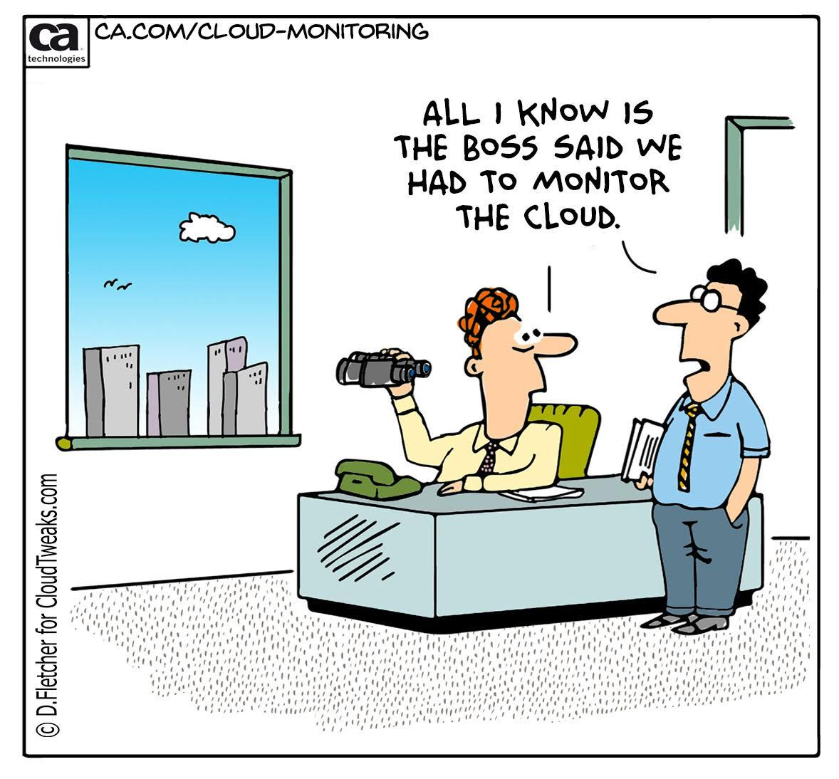 Cloud and Technology Comics For Your Business Website