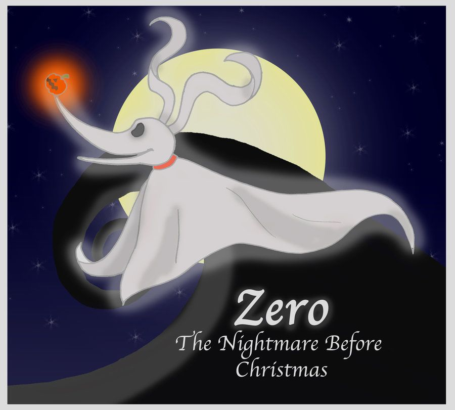 Zero from the Nightmare Before Christmas | Favorite Animated Animals ...