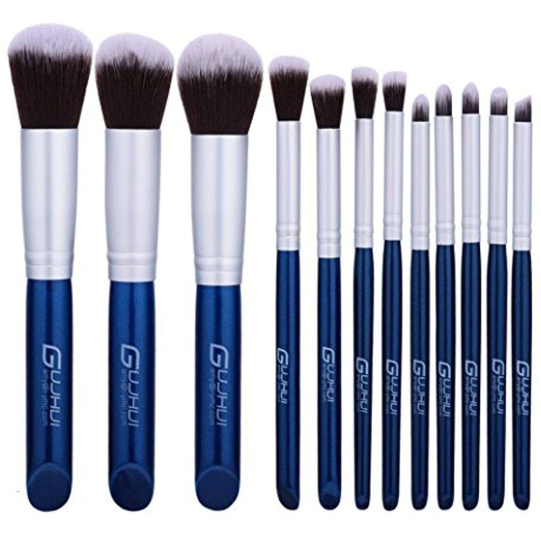 RNTOP 12PCS Makeup Brushes Set Kit Tool Blending Pencil