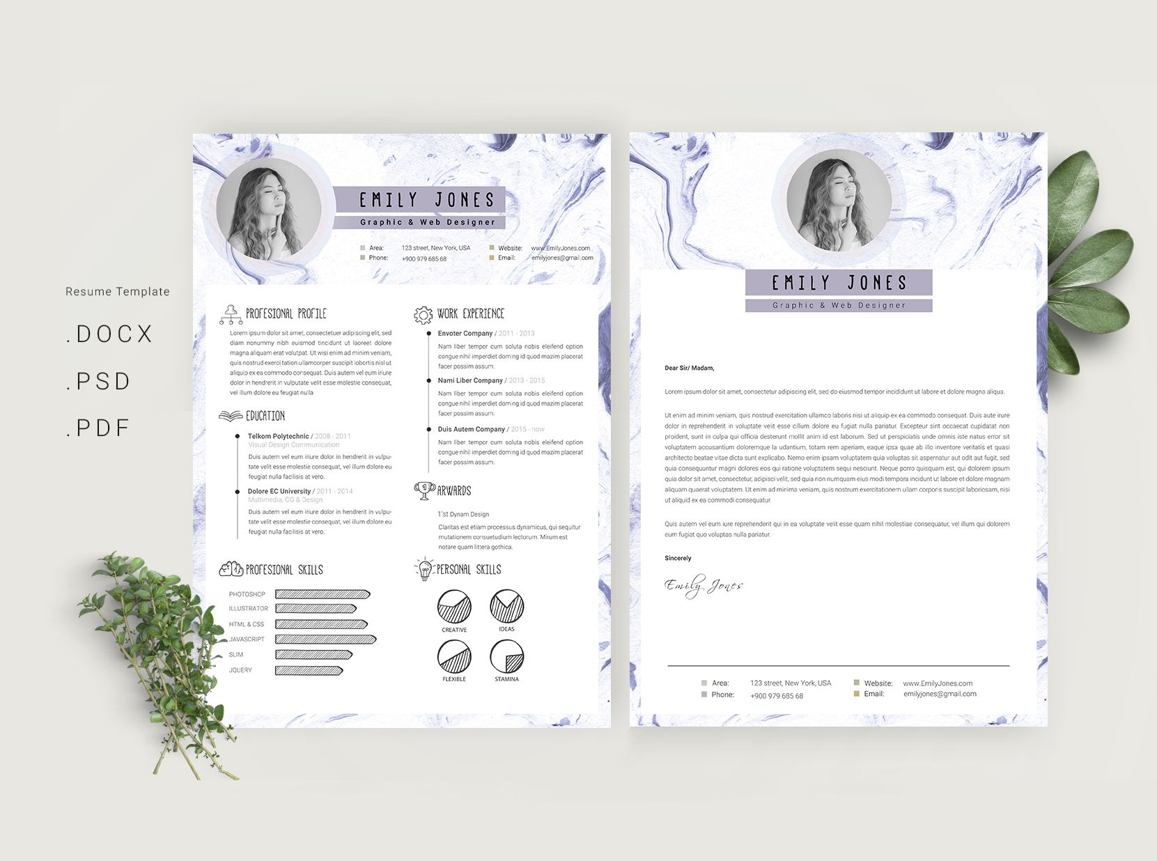 Resume Behance Resume Template check out my behance project simple resume template cv cv
