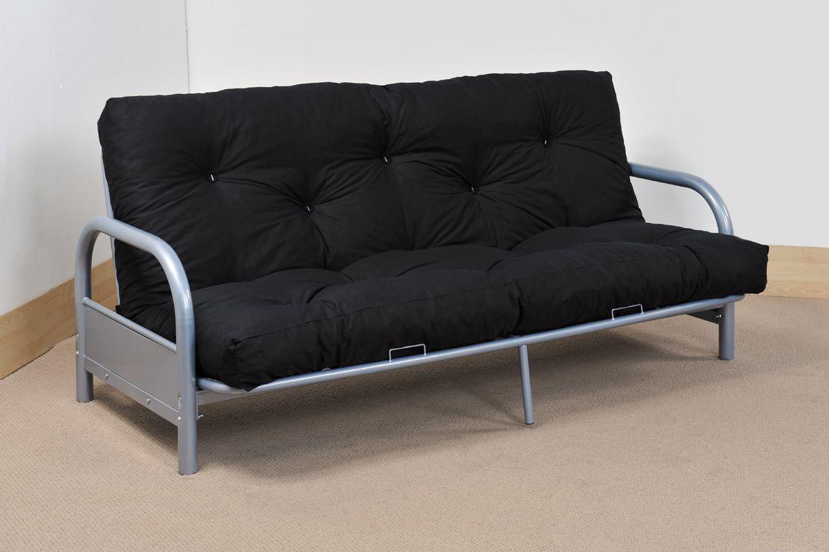 Double Metal Futon Sofabed Frame Sofa