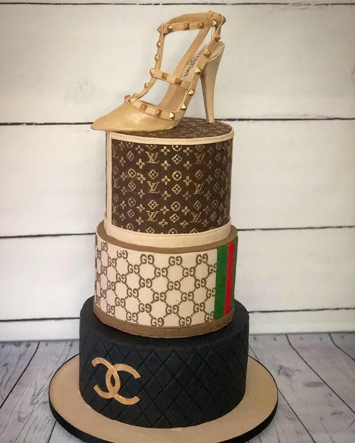 Astonishing Designer Brands For The Love Of Fashion Cake By Memes Cakes Funny Birthday Cards Online Fluifree Goldxyz