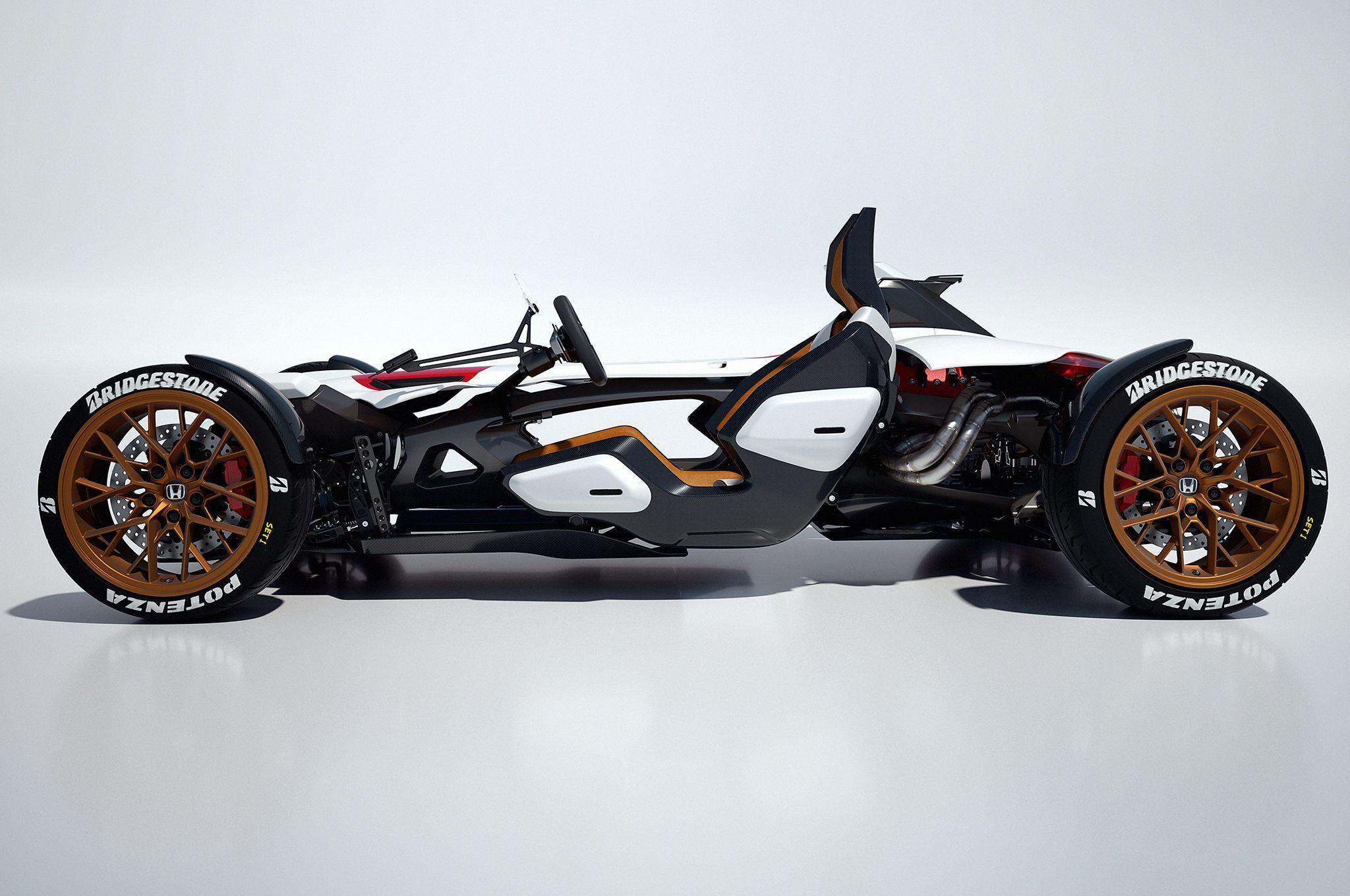 Honda Project 2 4 Automobile Shows Side View Motorbike Design