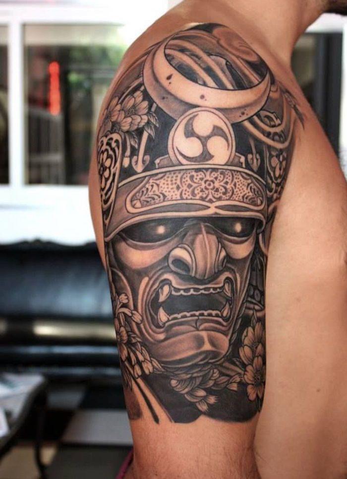 tatouage samourai le tattoo des guerriers tattoo. Black Bedroom Furniture Sets. Home Design Ideas
