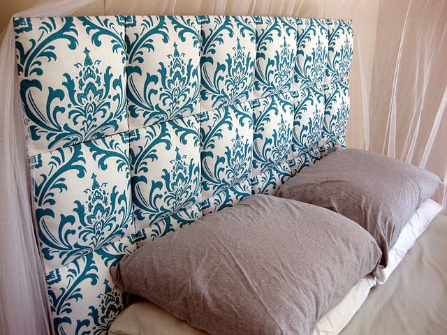 Perfect Diy Fabric Headboard On Easy Upholstered Tutorial Headboards
