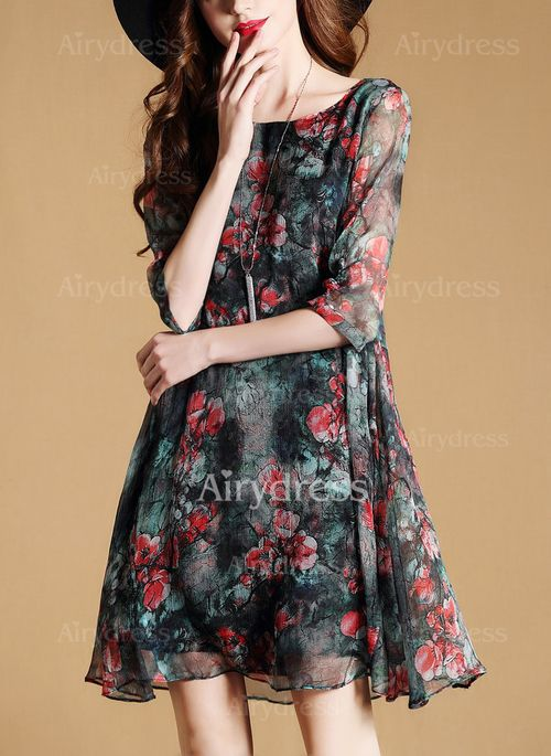 Above the Knee Casual Dresses