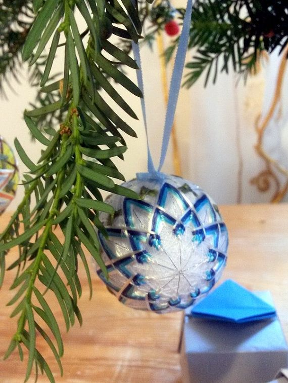 japanese christmas ornaments mini temari by monasaadhandmade - Japanese Christmas Tree Decorations
