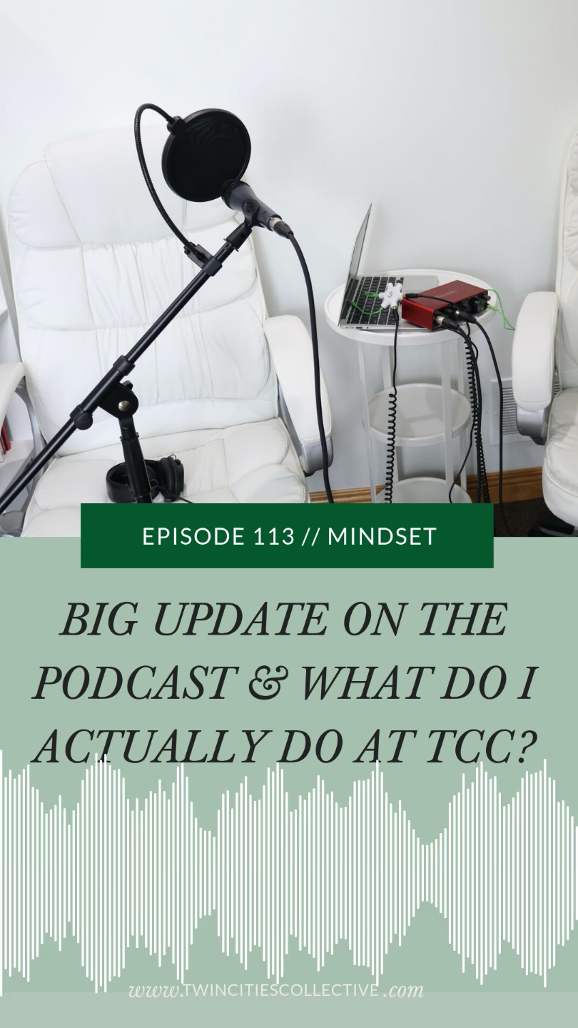 It's come to my attention that what I do is somewhat of a mystery so I'm sharing it all! Plus updates on our new podcast setup/studio and more!