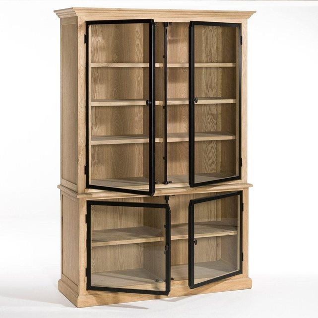 meuble vitrine 2 corps officine am pm interier in 2018 pinterest furniture armoire and decor. Black Bedroom Furniture Sets. Home Design Ideas