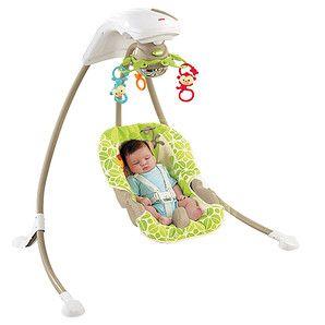 af512df59 Fisher-Price Rainforest Friends Cradle Swing
