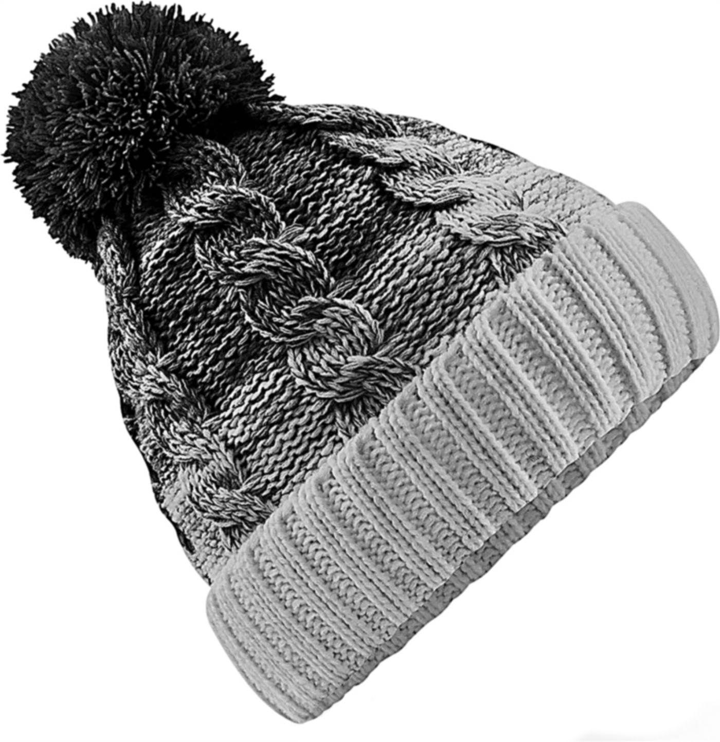 Winter Mütze Strickmütze Bommelmütze Wintermütze mit Bommel Damen und Herren