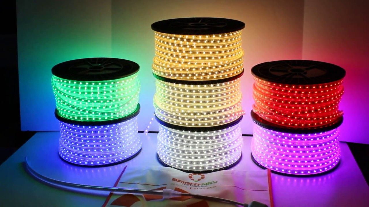 110V RGB Quick connect strip light LED Wholsalers