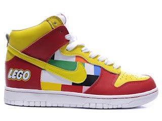 Nike Dunks Lego / Lego Nikes High Tops