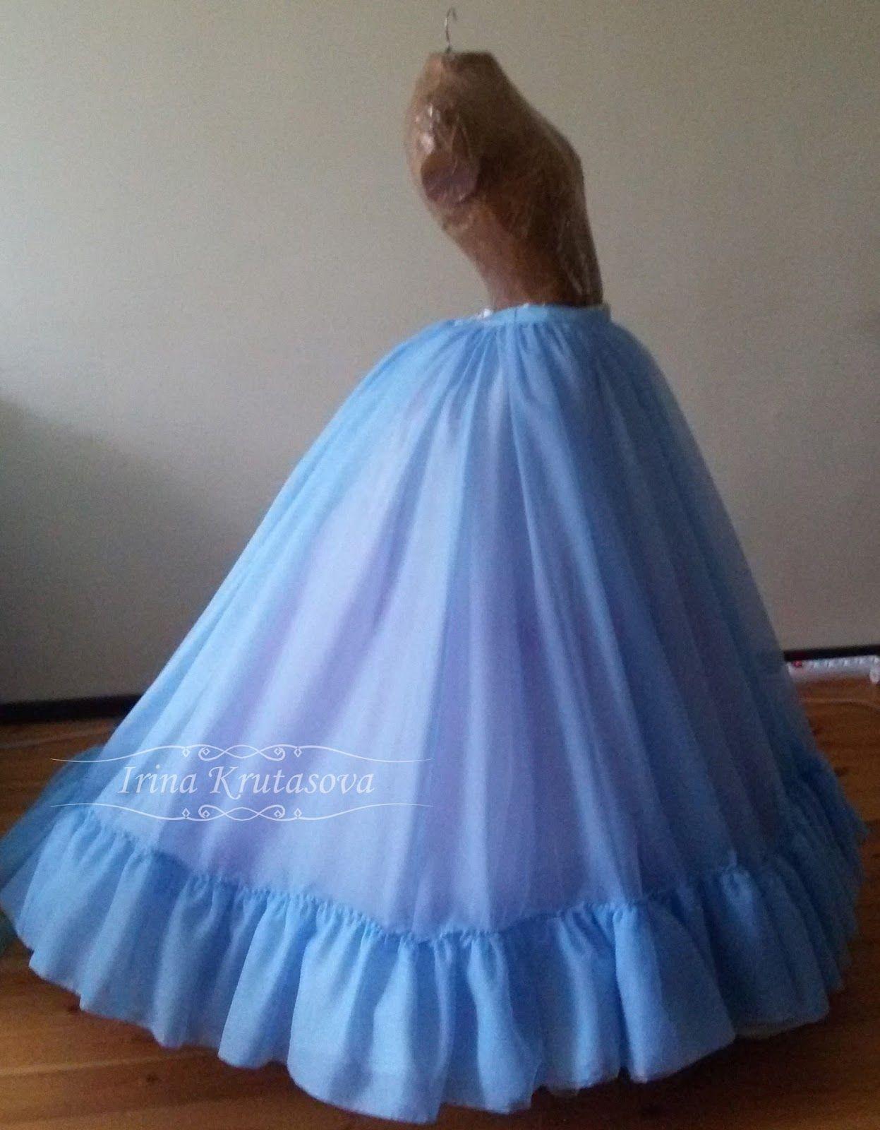 Платье золушки сшить своими руками