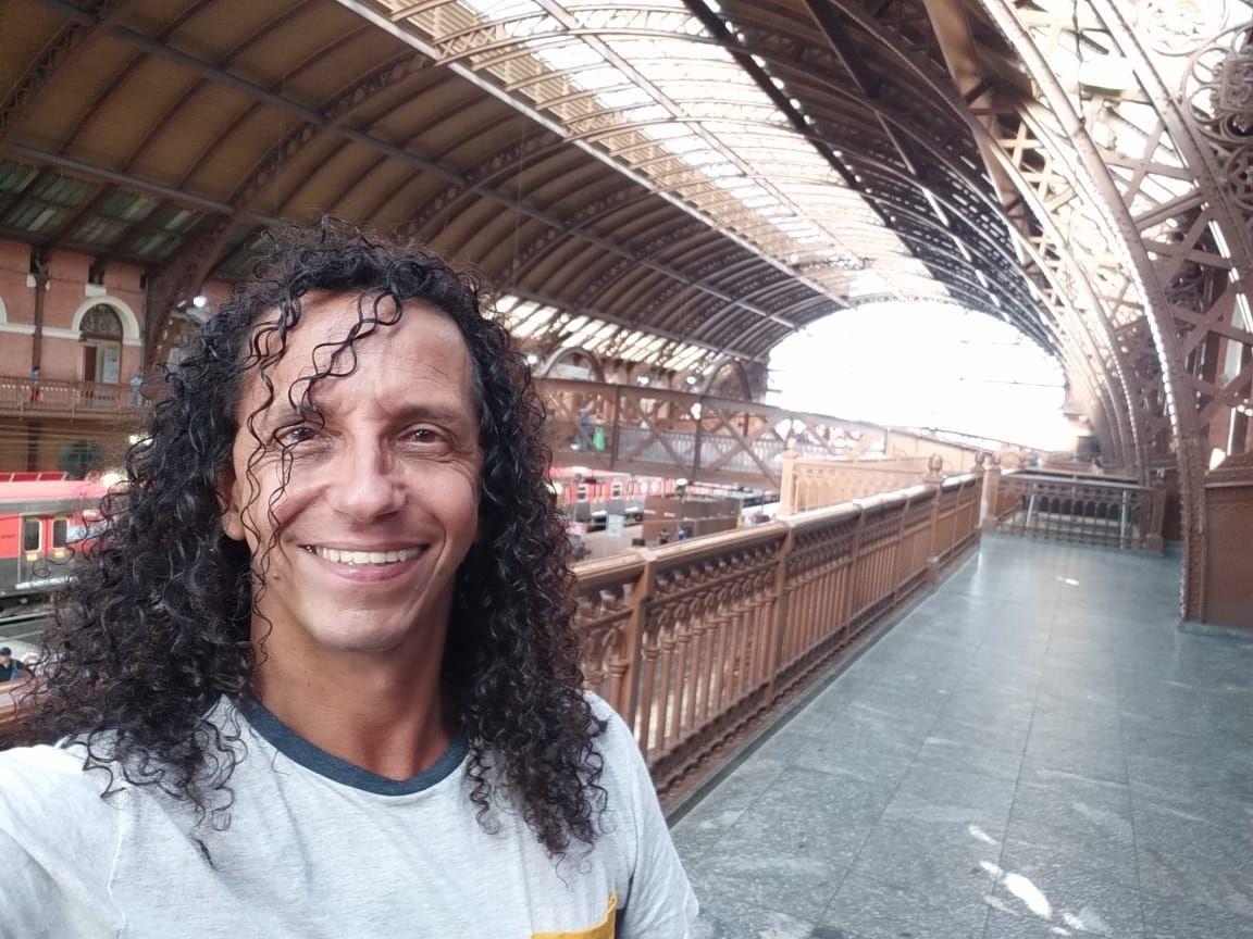 A histórica Estação da Luz em São Paulo.  PATROCINADO www.gilvangil.net #luz #estação #saopaulo