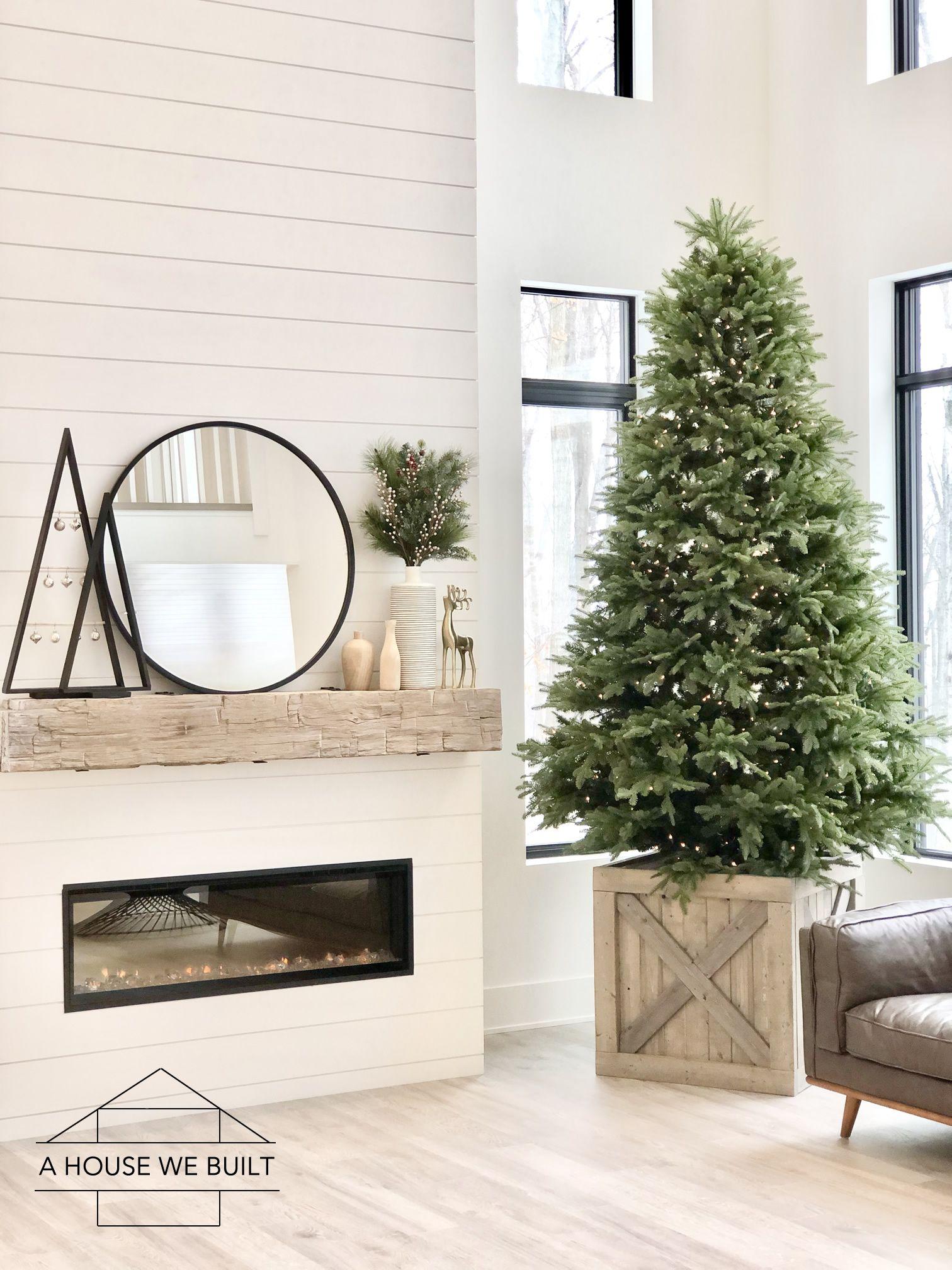 How to Build a Christmas Tree Box Stand Christmas tree