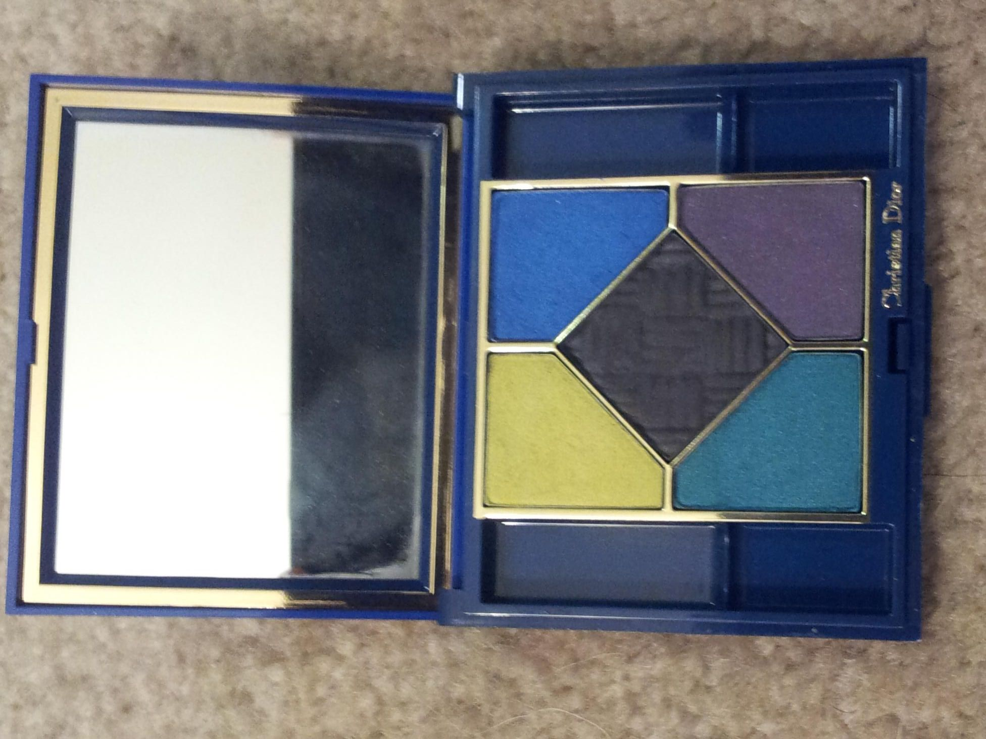 Christian Dior 5 Colour Eyeshadow Compact - used twice. Discontinued. $15
