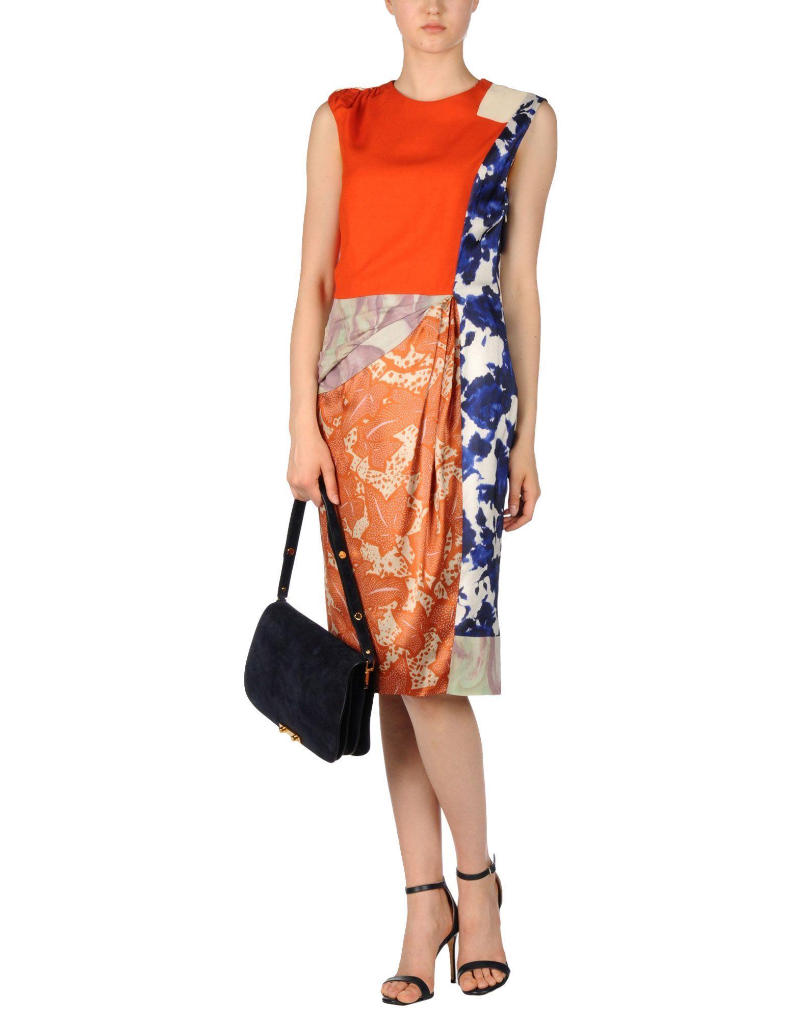 Dries Van Noten Knee-Length Dress - Men Dries Van Noten Knee-Length Dresses online on YOOX Australia - 34635793TM