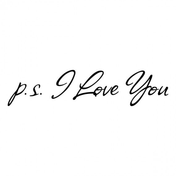 P.S. I love you (to all my followers!! <3)