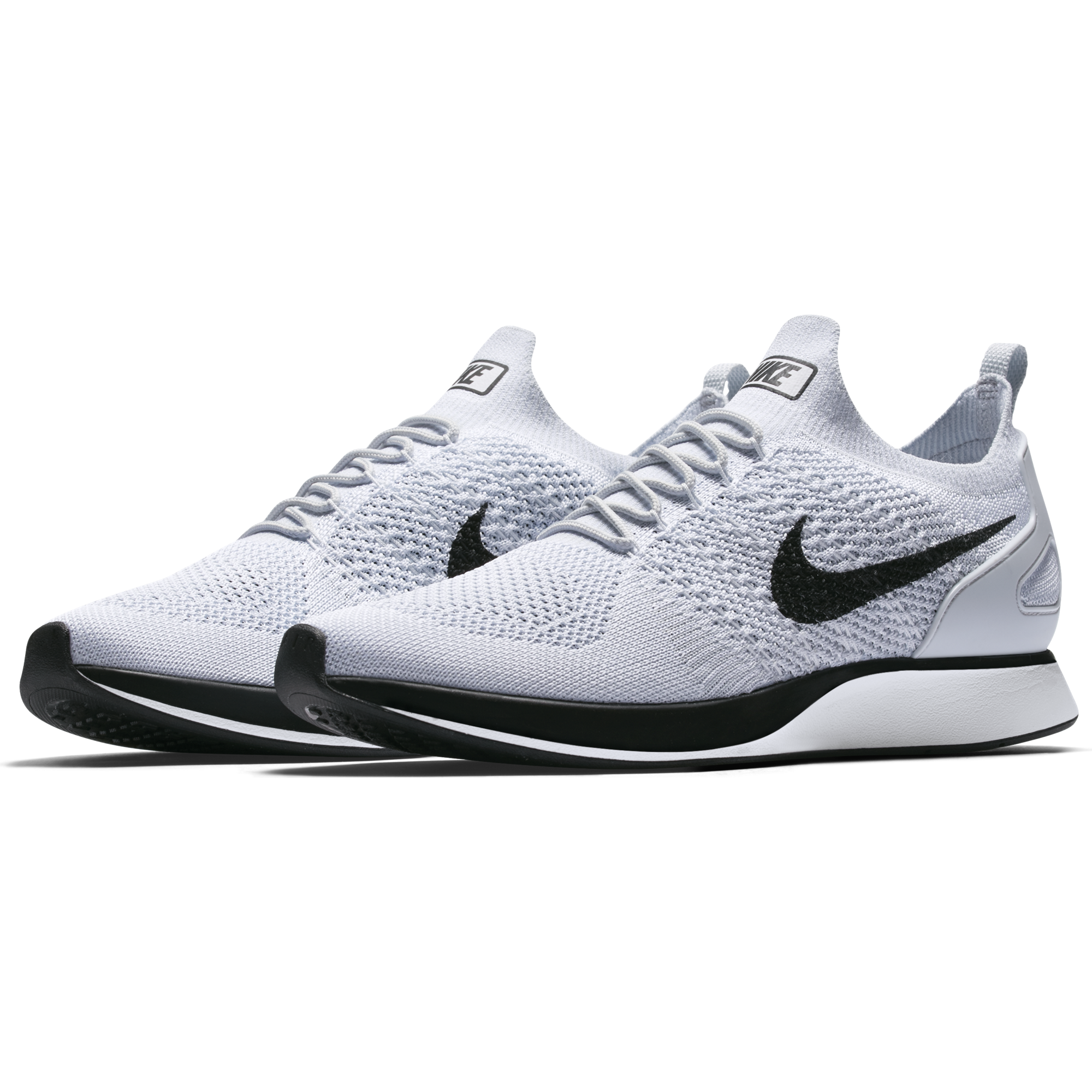 6118032c16a46 Nike Air Zoom Mariah Flyknit Racer - Pure Platinum White in 2019 ...