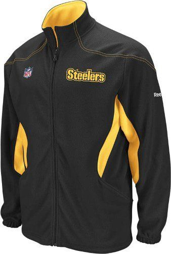 new arrival 683ad e6c1f Amazon.com: Reebok Pittsburgh Steelers Sideline Kickoff ...