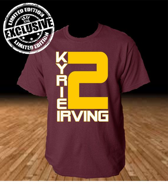 973a2efa Kyrie Irving Cleveland Cavaliers Basketball Limited Edition Tee Tshirt  Shooter Shirt NBA
