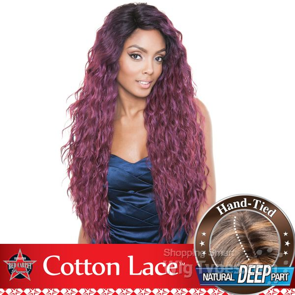 Isis Red Carpet Synthetic Hair Cotton Lace Front Wig Rcp809