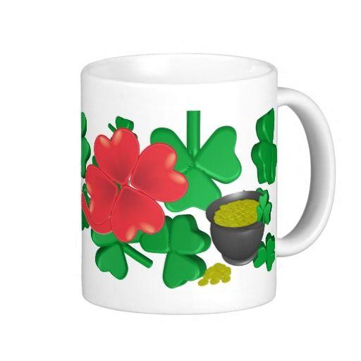 Kiss Me Mugs #zazzle #irish #kissme #mugs
