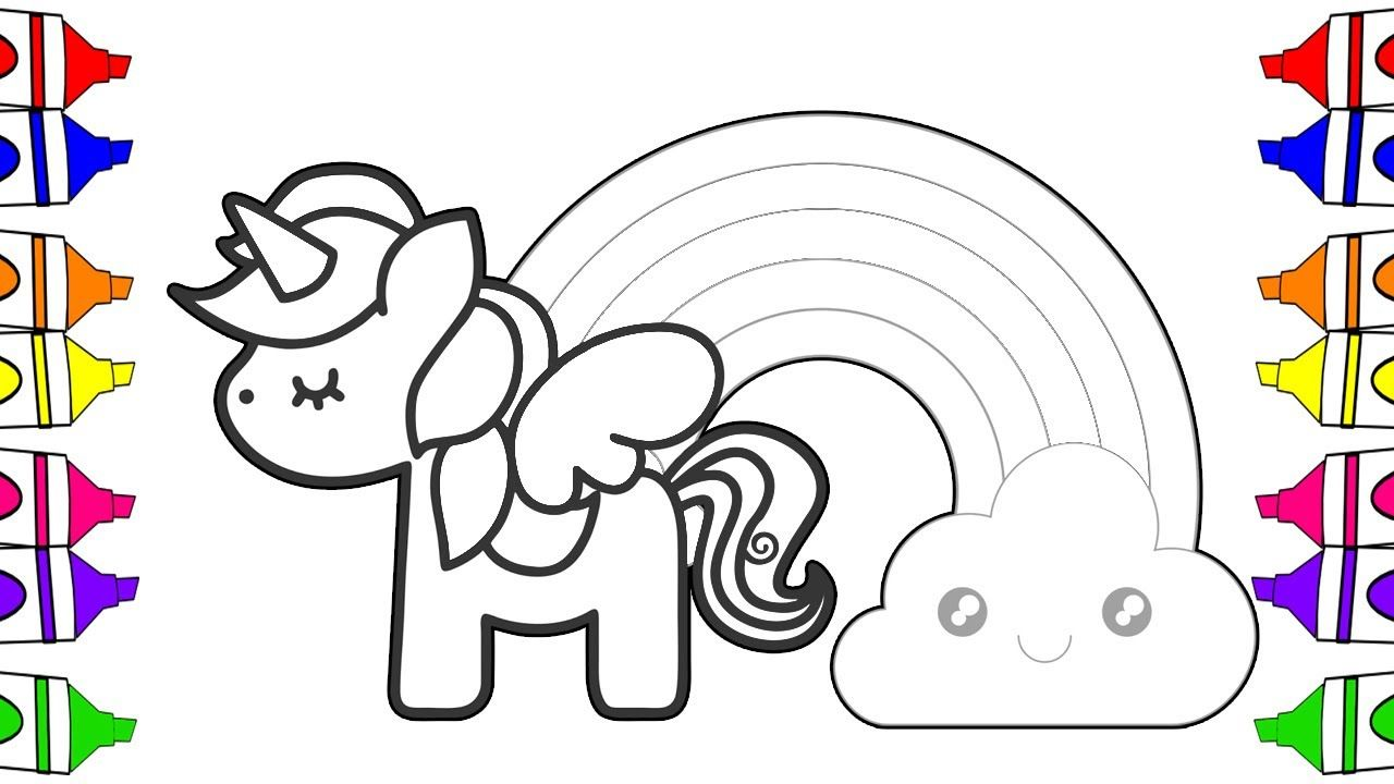 Unicorn Coloring Pages For Kindergarten Setoys Unicorn Coloring Pages Coloring Pages Unicorn Drawing