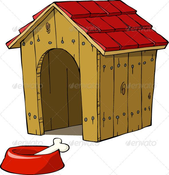 Dog House House Illustration Dog House Dogs Diy Projects