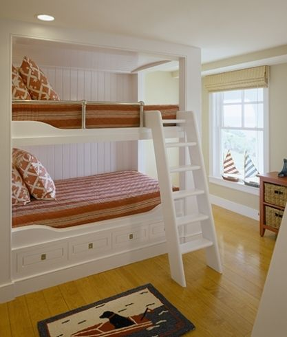 Would Be A Definite Luxury To Have Built In Bunk Bed 2 Sets As I