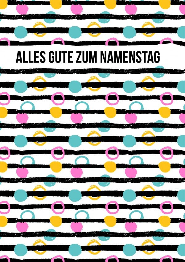 Alles Gute zum Namenstag | Namenstag/ Name day | Pinterest