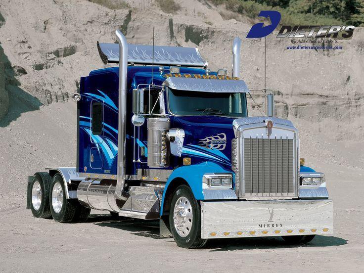 Truck Cool Image Big Rig Trucks Kenworth Trucks Big Trucks