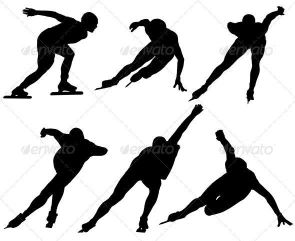 Ice Speed Skating Silhouette  #GraphicRiver         Ice Speed Skating Silhouette on white background     Created: 23August13 GraphicsFilesIncluded: JPGImage #VectorEPS #AIIllustrator Layered: Yes MinimumAdobeCSVersion: CS Tags: LongTrackSpeedSkating #athlete #exercising #gliding #healthy #ice #ice-skating #illustration #male #performance #racingskates #skating #speed #sport #vector #winter