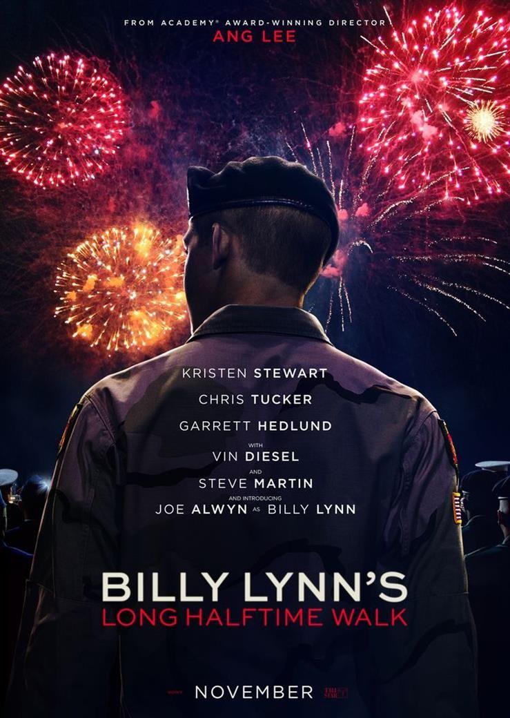 Billy Lynn's Long Halftime Walk 2/14/17 Film, Izleme