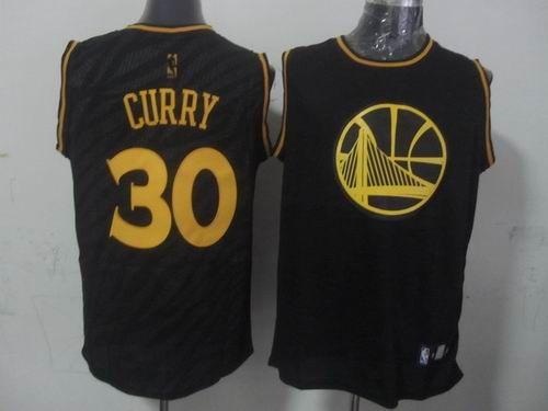 Golden State Warriors  30 Stephen Curry Precious Metals Fashion Swingman  Jersey Black  24.0 f17ee9e2b