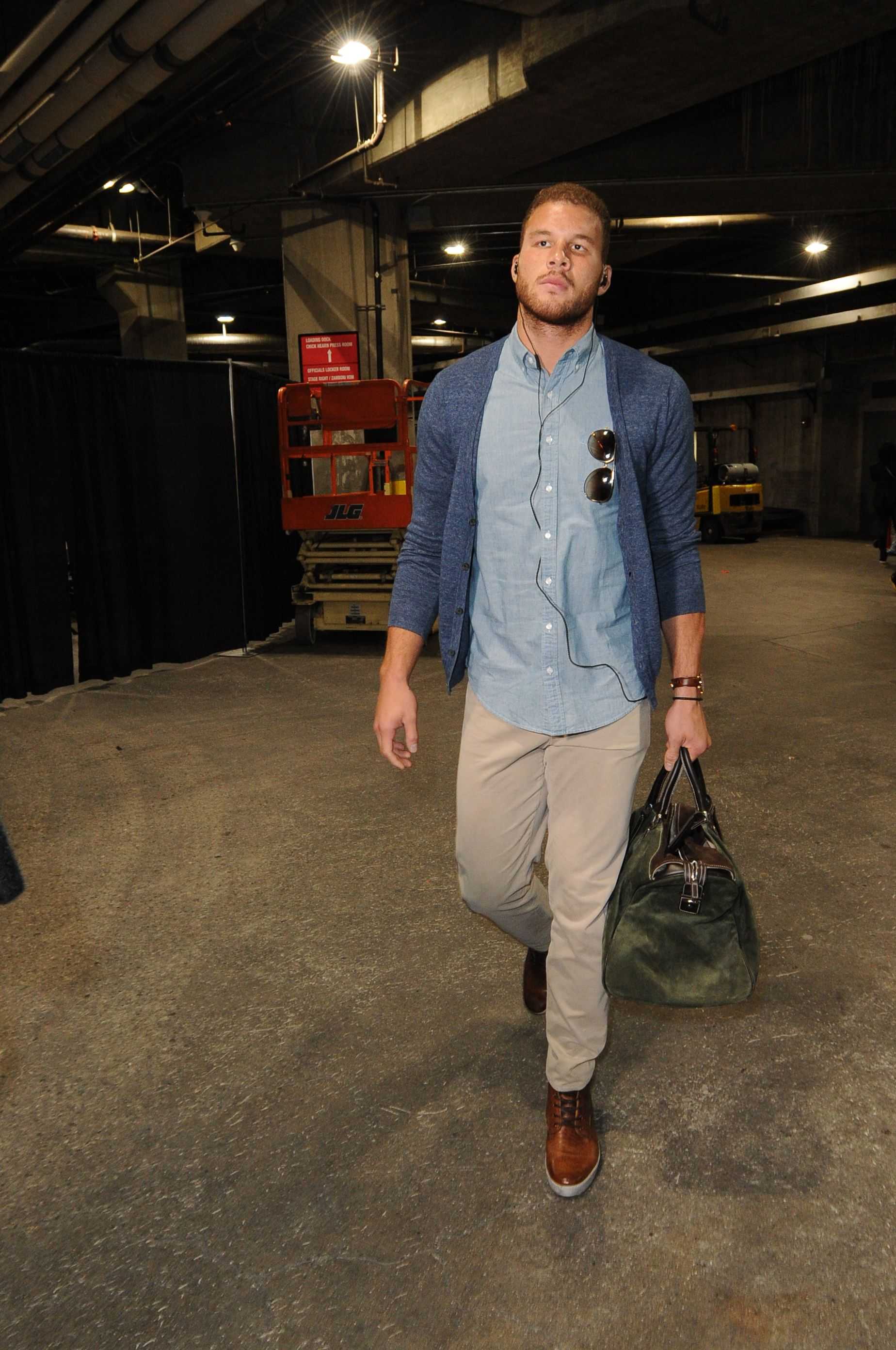 Blake Griffin entering STAPLES Center. | Clippers Have ...