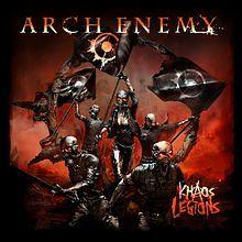 Arch Enemy Khaos Legions Arch Enemy Album Cover Art Enemy