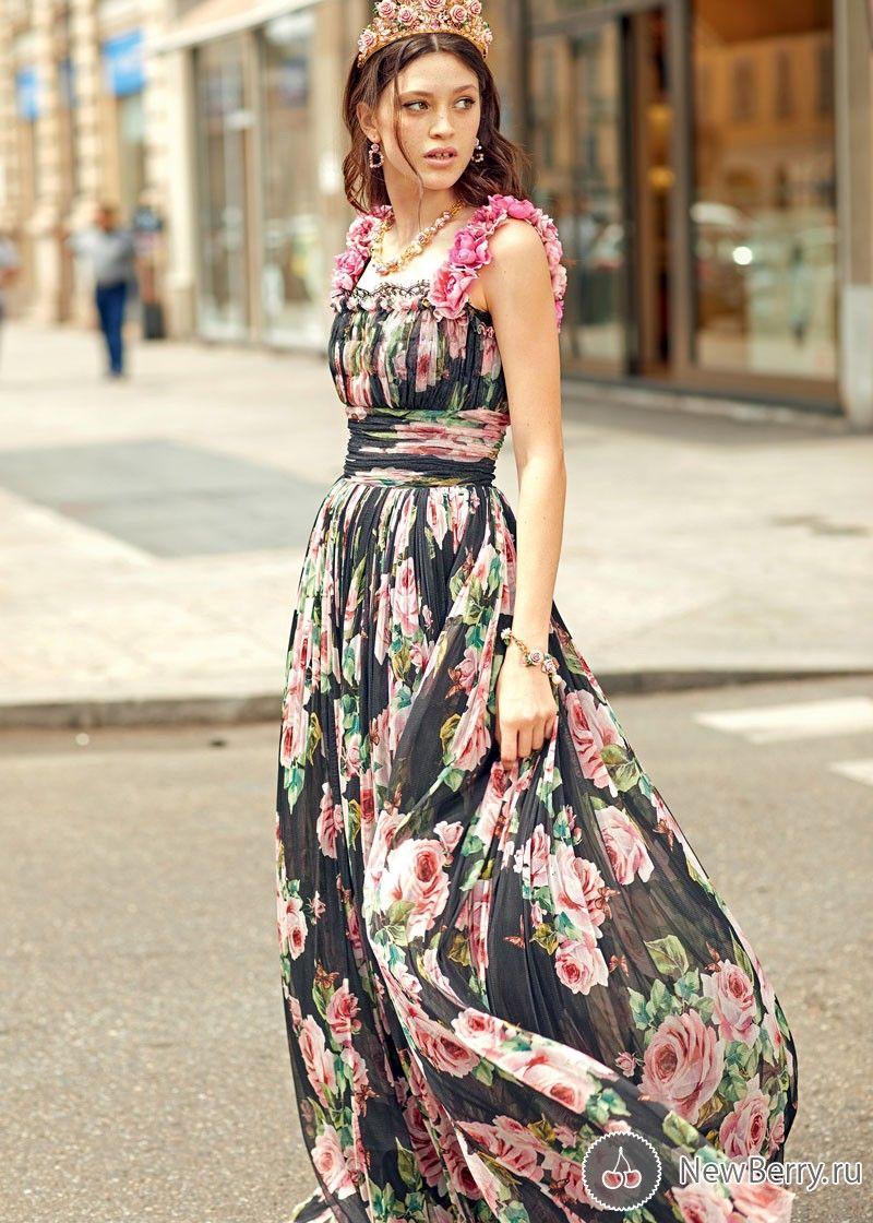 b372727f305 Коллекция вечерних платьев Dolce   Gabbana весна-лето 2018