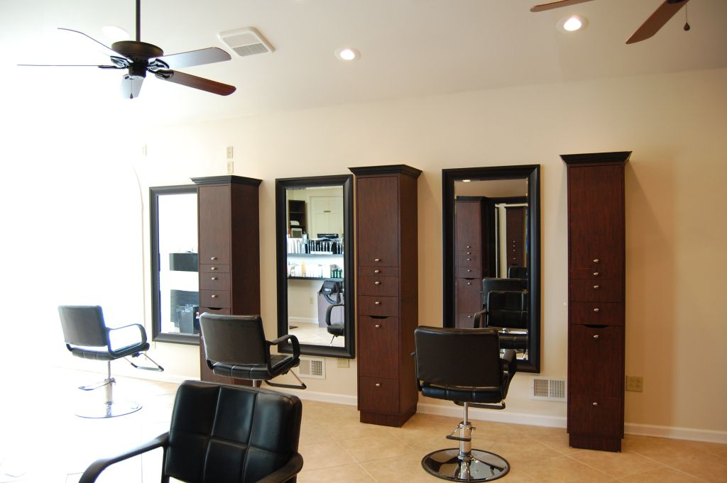 Styling Station Salon interior design, Salon interior
