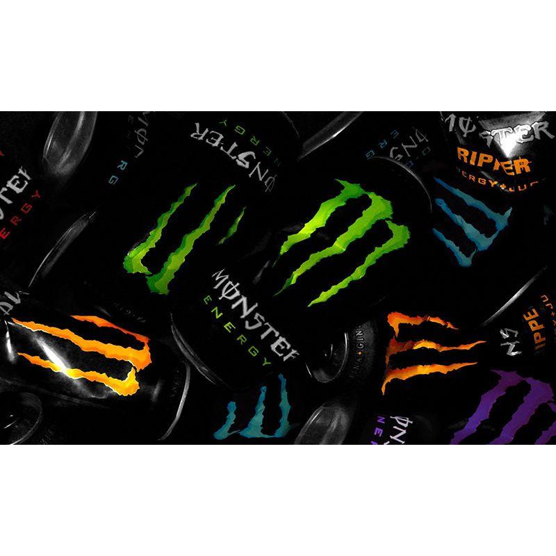 Monster Energy Drink Flag Plate Sign Bar Pub Club 90*150cm Banner Background #Unbranded