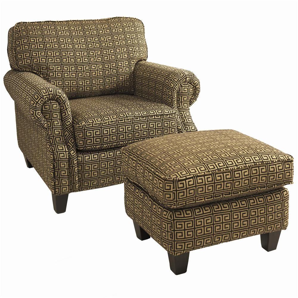 Emerson Chair And Ottoman By Lane Living Room Furniture