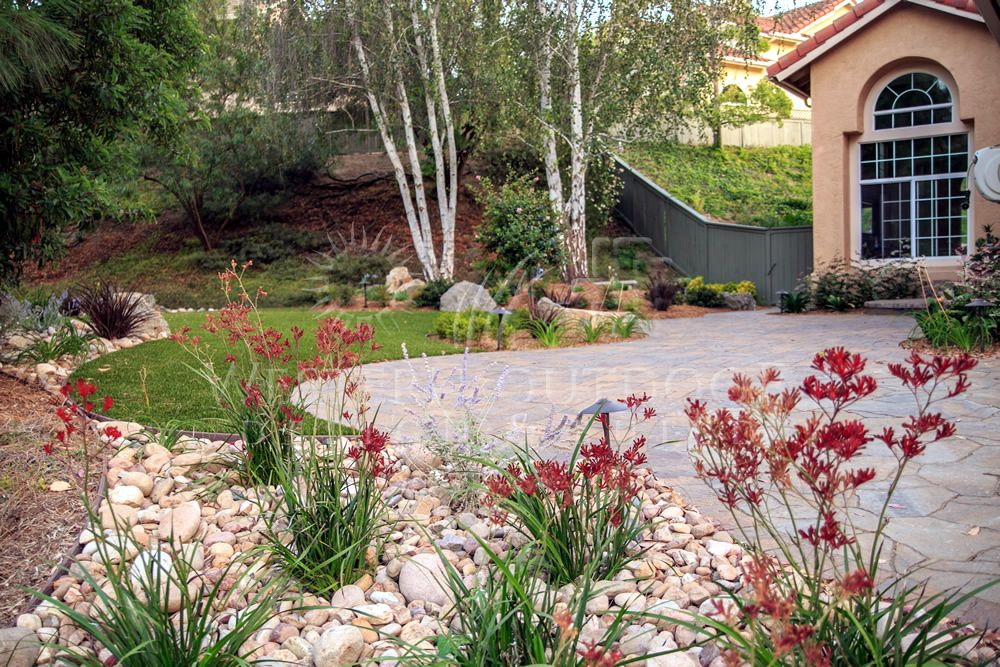 Xeriscaping is extremely popular especially in southern for Water landscape design
